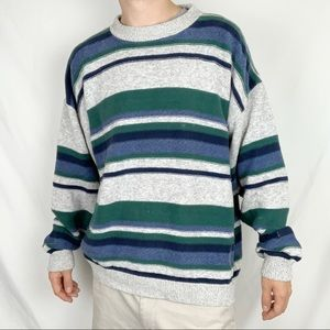 90s style sweater